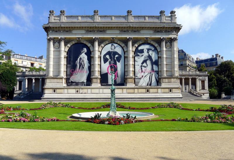 фото музея моды Дворец Гальера в Париже