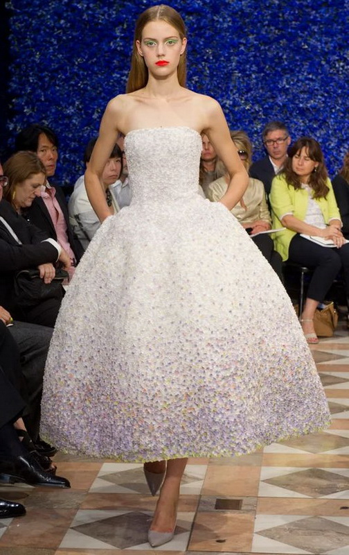 фото платья Raf Simons для Christian Dior