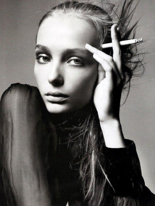 Фото: Снежана Онопко для Vogue Italia в 2005 году, Фотограф: Стивен Майзель