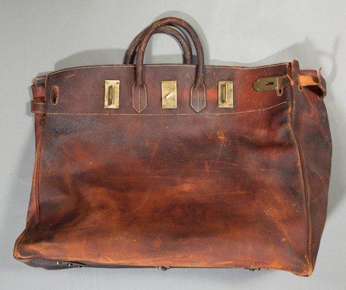 Фото: сумка Haut a Courroies, 1900 год
