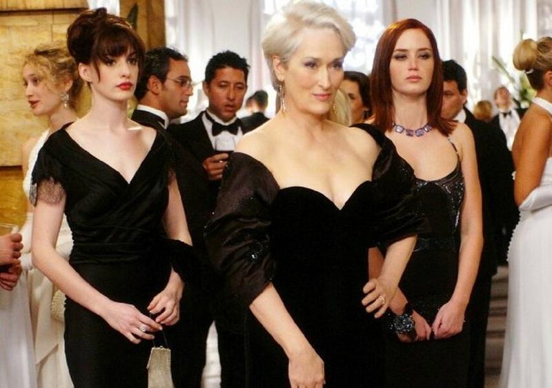 фильм про моду и стиль - Дьявол носит Prada, 2006