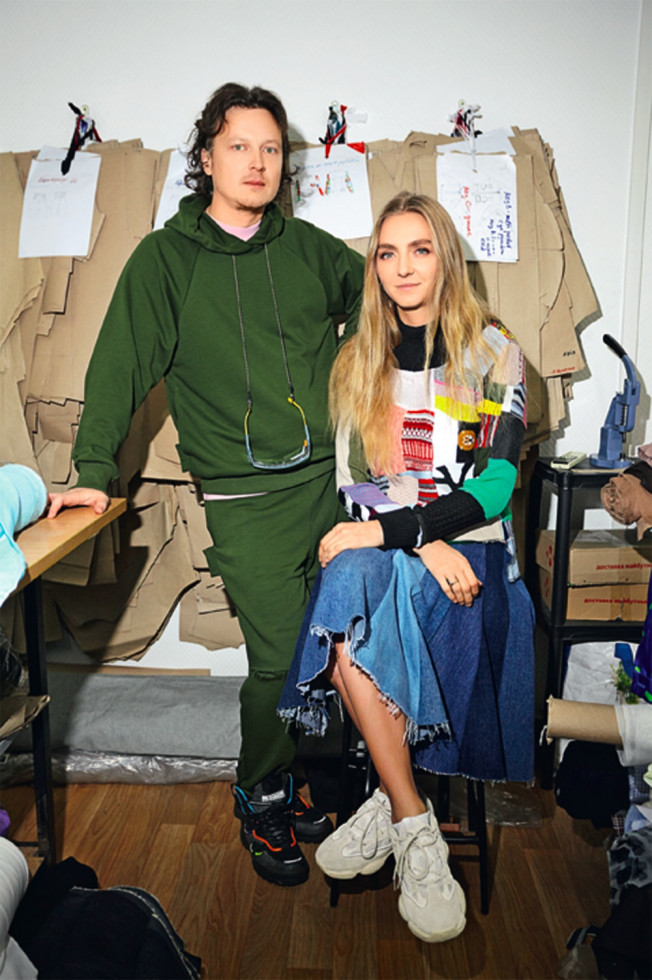 Фото: Ксения и Антон Шнайдер, основатели бренда