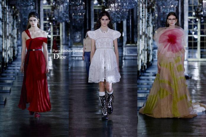 показ Dior сезон FW21-22