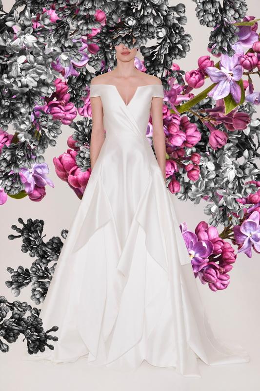 Reem Acra bridal s21