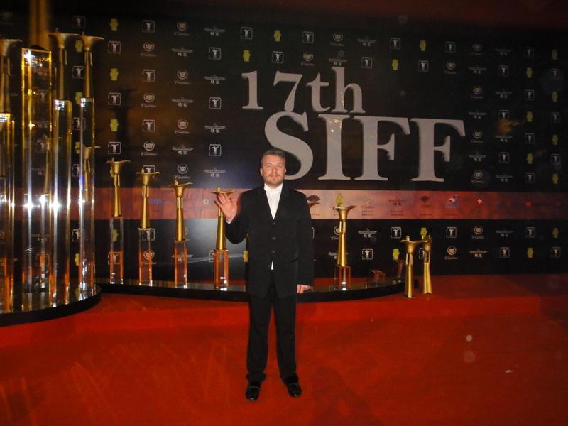 Алексей Залевский фото на Шанхайском кинофестивале