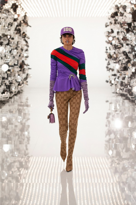 Gucci коллекция Pre Fall 21 Aria foto-10