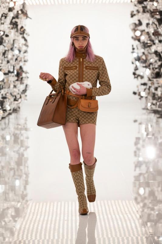Gucci коллекция Pre Fall 21 Aria foto-32