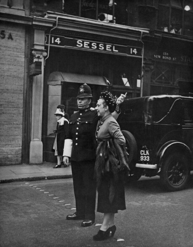 Фото: Эльзы Скиапарелли, 1947 год