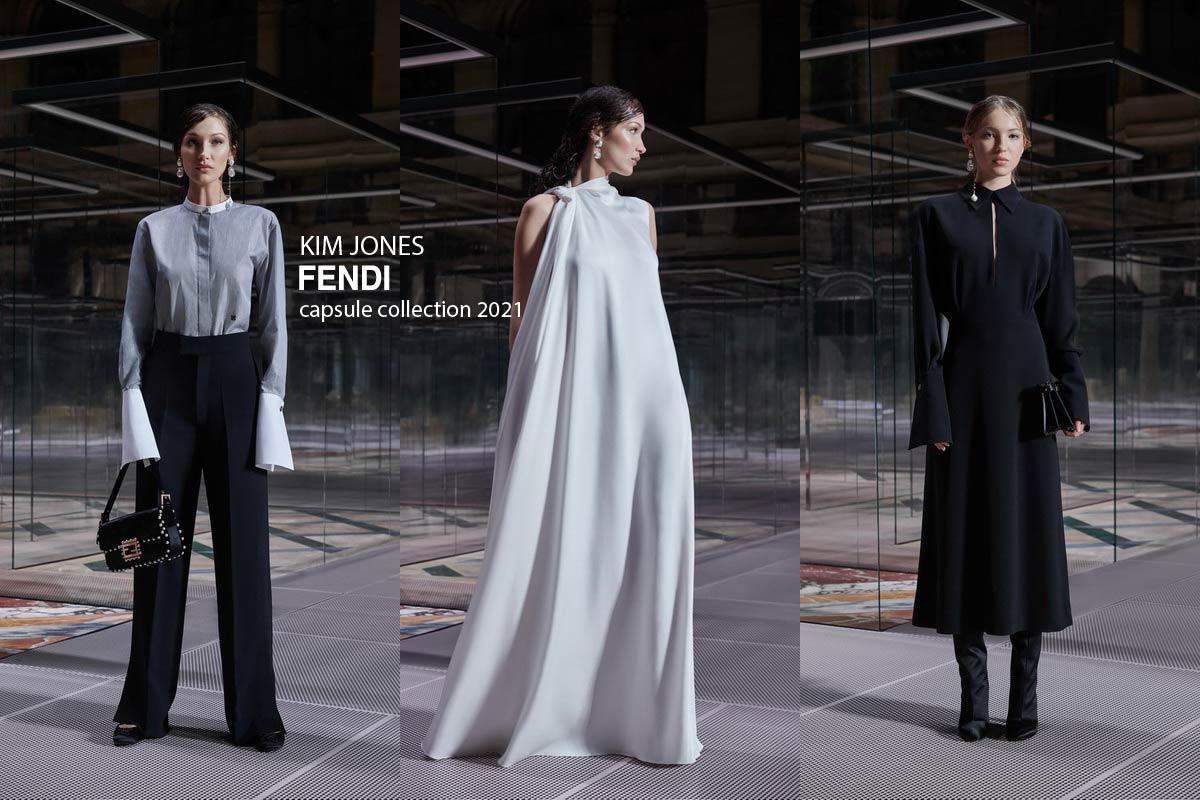 капсульная коллекция Кима Джонса для FENDI