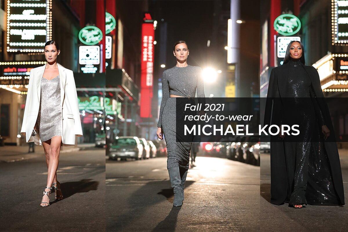 коллекция Майклв Корса Fall 2021 Ready-to-Wear