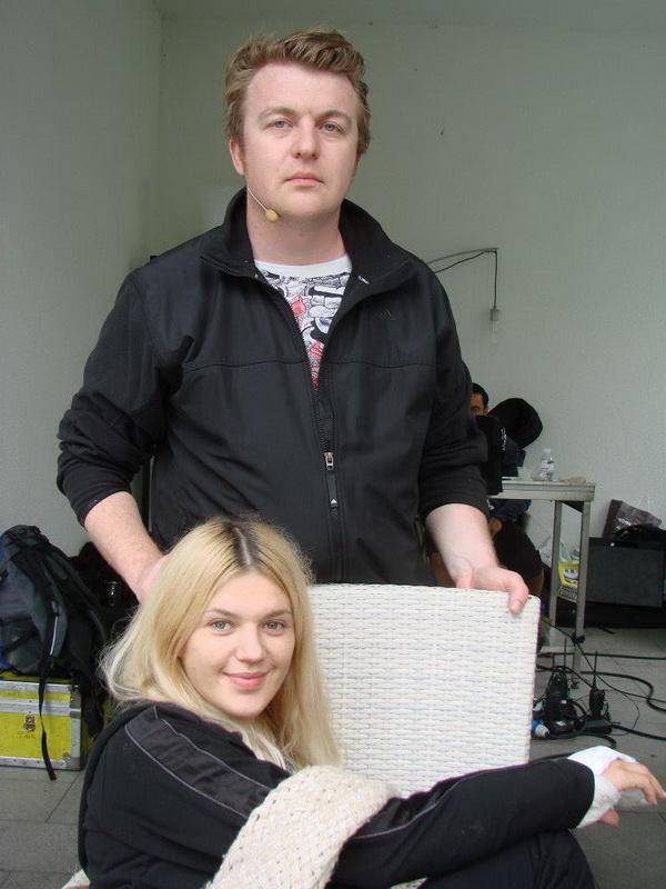 Елена Филонова и Алексей Залевский