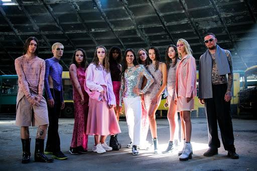 "foto Jean Gritsfeldt и моделей на показе ""Love Kyiv"""